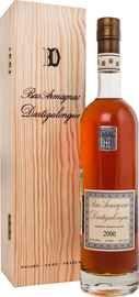 Арманьяк «Dartigalongue Bas Armagnac 2000» в деревянной подарочной упаковке
