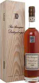 Арманьяк «Dartigalongue Bas Armagnac 1989» в деревянной подарочной упаковке