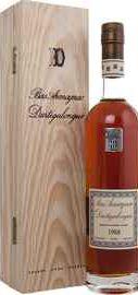 Арманьяк «Dartigalongue Bas Armagnac AOC 1988» в деревянной подарочной упаковке