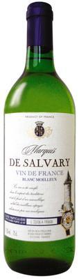 Вино столовое белое cухое «Marquis De Salvary Blanc Sec»