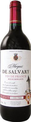 Вино столовое красное сухое  «Marquis De Salvary Rouge Sec»