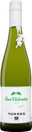 Вино белое полусухое «San Valentin Parellada Catalunya» 2018 г.