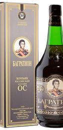 Коньяк российский «Багратион ОС» в подарочной упаковке
