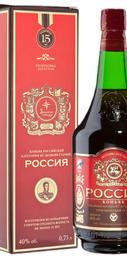 Коньяк российский «Россия КС» в подарочной упаковке