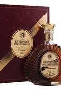 Коньяк российский «Кизлярский Праздничный» в сувенирной подарочной упаковке