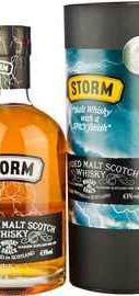 Виски шотландский «Storm Blended Malt» в тубе