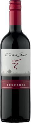 Вино красное полусухое «Cono Sur Tocornal Cabernet Sauvignon» 2018 г.