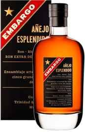 Ром «Embargo Anejo Esplendido» в подарочной упаковке