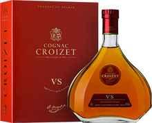 Коньяк французский «Croizet VS Cognac in decanter» в подарочной упаковке