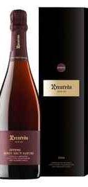 Вино игристое розовое экстра брют «Recaredo Intens Rosat Brut Nature Gran Reserva» 2014 г. в подарочной упаковке
