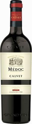 Вино красное сухое «Calvet Reserve de l'Estey Medoc» 2018 г.