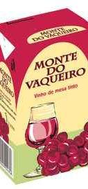 Вино красное полусладкое «Monte do Vaqueiro»