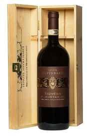 Вино красное сухое «Tenute Silvio Nardi Brunello Di Montalcino» 2013 г. в деревянной подарочной упаковке