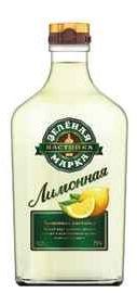 Настойка сладкая «Зеленая Марка Лимонная»