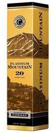 Коньяк армянский «Platinum Mountain» в подарочной упаковке