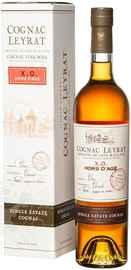 Коньяк французский «Leyrat XO Hors d Age» в подарочной упаковке
