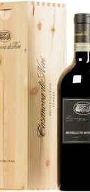 Вино красное сухое «Casanova di Neri Brunello di Montalcino Cerretalto» 2012 г. в  деревянной коробке