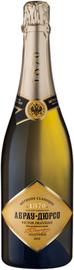 Российское шампанское белое полусухое  «Абрау-Дюрсо Премиум» коллекционное