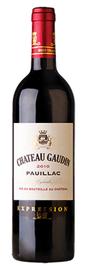 Вино красное сухое «Chateau Gaudin Expression» 2011 г.