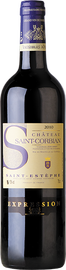Вино красное сухое «Chateau Saint Corbian Expression» 2015 г.