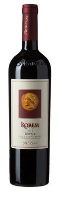 Вино красное сухое «Korem Bovale Isola Dei Nuraghi» 2014 г.