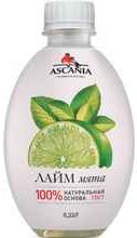 Газированный напиток «Ascania Ascania Лайм Мята»