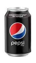 Газированный напиток «Pepsi Max» в жестяной банке