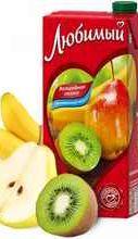 Сок «Любимом Яблоко банан груша киви»