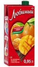 Сок «Любимый Апельсиновое манго»