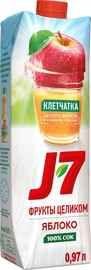 Сок «J7 Фрукты Целиком Яблоко с мякотью»