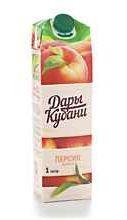Сок «Дары Кубани Персик-яблоко»