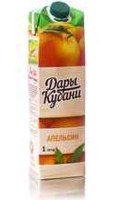 Сок «Дары Кубани Апельсин»