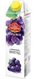 Сок «Сады Придонья Exclusive Виноград» без сахара