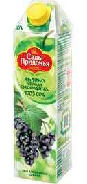 Сок «Придонья Яблоко-Черная смородина» без сахара