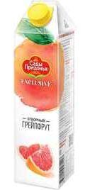 Сок «Сады Придонья Exclusive Грейпфрут» без сахара