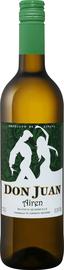 Вино белое полусладкое «Airen Don Juan»