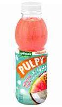 Сок «Pulpy Маракуйя-гуава с кусочками кокосового желе»