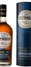 Виски шотландский «Speymhor 30 y.o.» в тубе