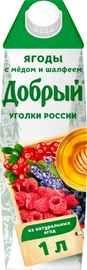 Сок «Добрый ягоды с мёдом и шалфеем»