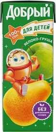 Сок «Добрый Яблоко Груша»
