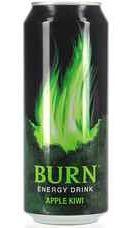 Энергетический напиток «Burn Apple Kiwi, 0.33 л»