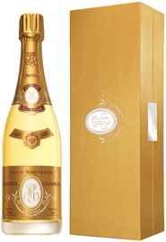 Шампанское белое брют «Cristal» 2012 г. в подарочной упаковке