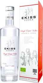 Водка «Vodka Ekiss Single Estate» в подарочной упаковке