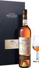 Коньяк французский «Cognac Leyrat XO Hors d'Age» в подарочной упаковке с двумя бокалами