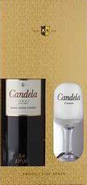 Херес «Jerez Candela Cream» в подарочной упаковке с бокалом