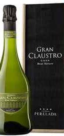 Вино игристое белое брют «Gran Claustro Brut Nature» в подарочной упаковке