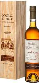 Коньяк французский «Cognac Leyrat XO Hors d'Age» в деревянном футляре