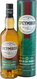 Виски шотландский «Speymhor 21 y.o.» в тубе