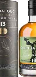 Виски ирландский «Glendalough 13 Years Old» в тубе