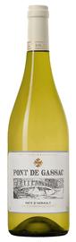 Вино белое сухое «Pont de Gassac blanc» 2017 г.